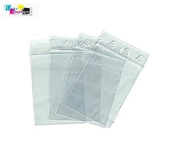 Mm Fermeture Zip Lot X 70 Sachets 100 De TransparentSachet Yyfgb76v