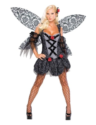 Secret Wishes Women's Enchanted Creature Adult Fairy Spoiled Costume, Multicolor, Large (Enchanted Wishes Costume)