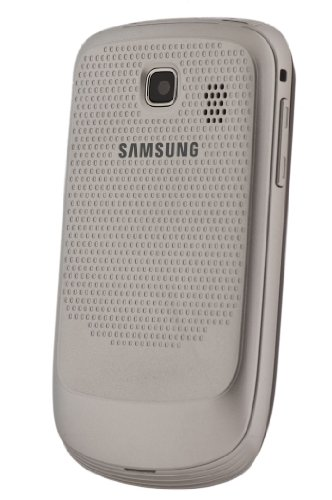 Samsung S3850 Corby II Unlocked GSM Phone with 2 MP Camera, Wi-Fi, FM Radio and Bluetooth - Unlocked Phone - No Warranty - Silver