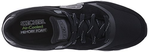 Skechers OG-90, Zapatillas de Deporte para Hombre, BKW, 43 EU