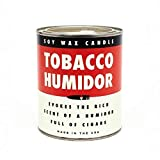 Cool Material The Tobacco Humidor Candle - Men's Cigar Tobacco Cedar Scented
