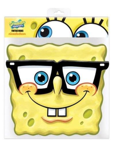 Spongebob With Glasses (Spongebob Squarepants with Glasses Party Mask)