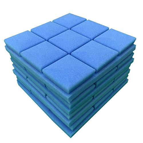 (Cathy Clara 4Pcs Acoustic Foam Panel Sound Stop Absorption Sponge Studio KTV Soundproof Wall Foam Panels Sound Proof Padding for Studios)