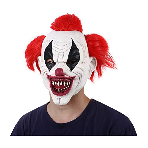 Red Hair Scary Pennywise Mask Clown Masks Halloween