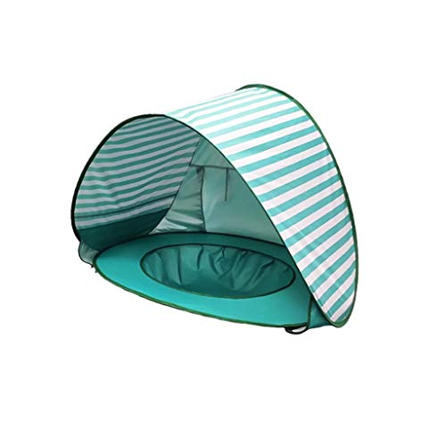 Startview Portable Beach Tent Baby Tent Anti-UV Baby Summer Campe Canopy Sun Shade Shelter (Green, Free)