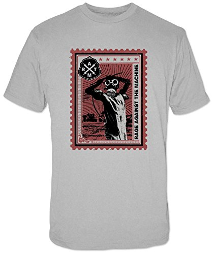 Rage Against the Machine - Postage Stamp T-Shirt Size - Postage Stamp T-shirt Soft