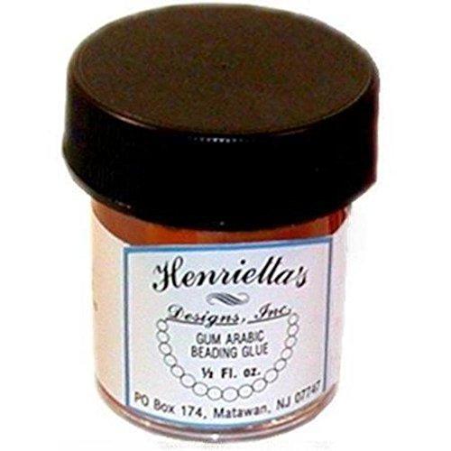 - Henrietta's Gum Arabic Beading Glue .5oz