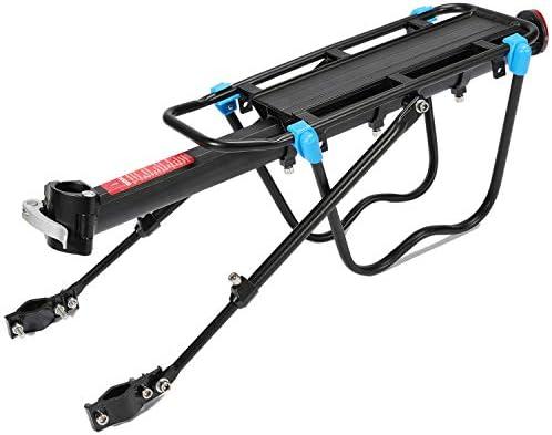 Pn&cc Portaequipajes Trasero Cargo Rack, Bicicleta portaequipajes ...