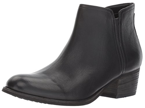 CLARKS Women's Maypearl Ramie Ankle Bootie, Black Leather, 8 M US by CLARKS