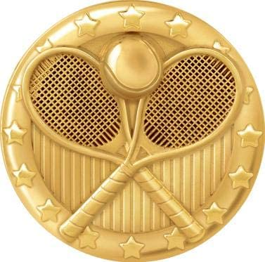 Tennis Lapel Pins for Tennis Player Trading Pins Prime Crown Awards Tennis Pins Gold