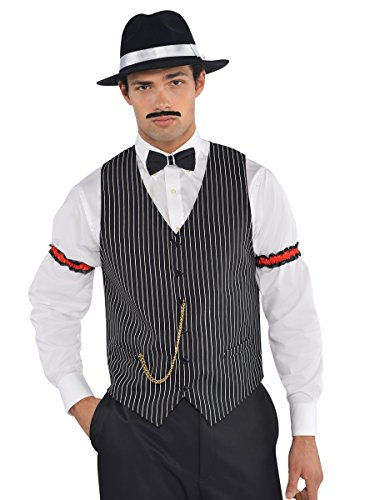 AMSCAN Roaring 20s Gangster Vest Halloween Costume Accessories, One -