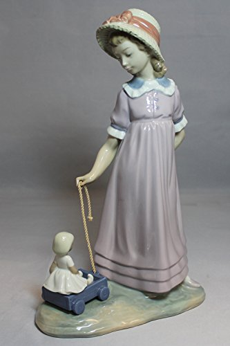 Girl With Wagon & Doll