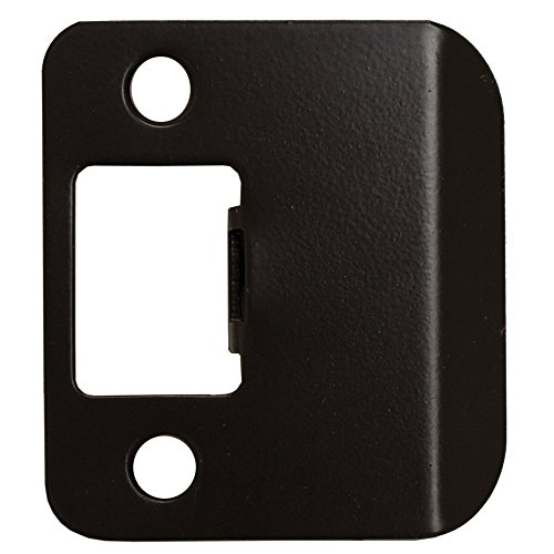 Stone Harbor Hardware 50115-10B Extended Lip Strike Plate with 1.5