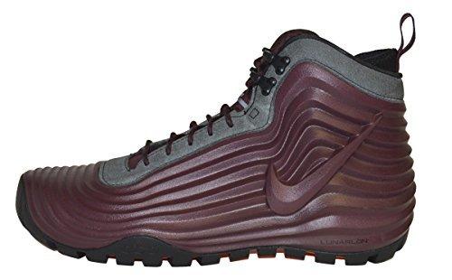Nike Lunardome Sneakerboot Burgandy/Black Men's 8