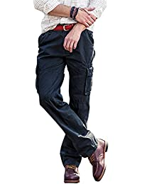 Men's Cargo Pants Work Trousers casual Pants