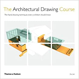 amazon the architectural drawing course the hand drawing