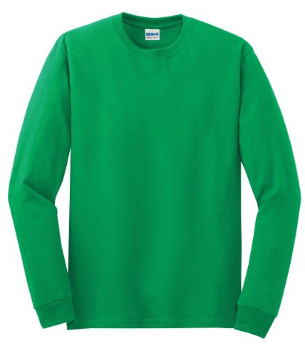 Gildan - Heavy Cotton 100% Cotton Long Sleeve T-Shirt-XL