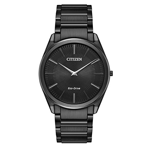Citizen Watches Men's AR3075-51E Eco-Drive Black Watch ()