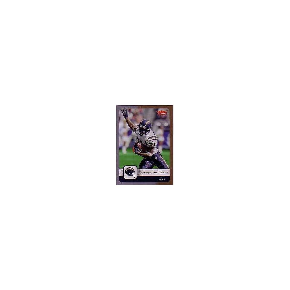 Ladainian tomlinson San Diego Charger 2006 Fleer Card #80