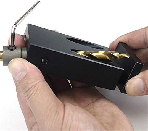 Pocket Hole Jig Oblique Hole Positioner Woodworking Locator Wood Reamer Pocket Hole Jig Set Pocket Hole Screw Jig Dowel Drill