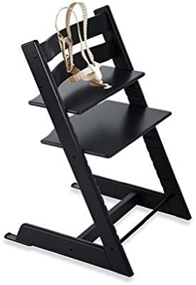 Amazon.com: Stokke – Tripp Trapp Bundle – Black High – Silla ...