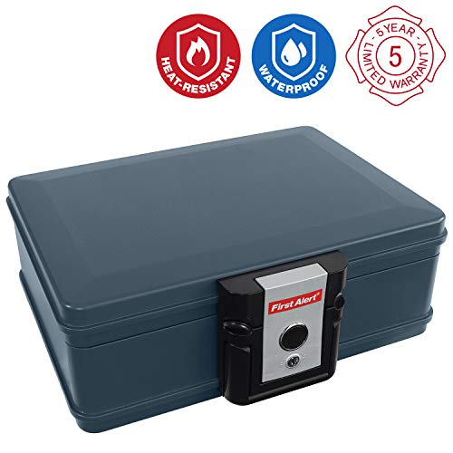 Safe Fire Chest Security - First Alert 2017F Water and Fire Protector File Chest, 0.19 Cubic Feet