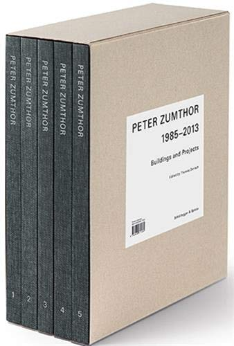 Peter Zumthor: Buildings and Projects, 1985-2013 [5 Volume Set]