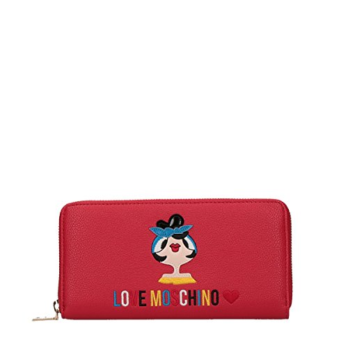Portafoglio Moschino Charm Bag Rosso