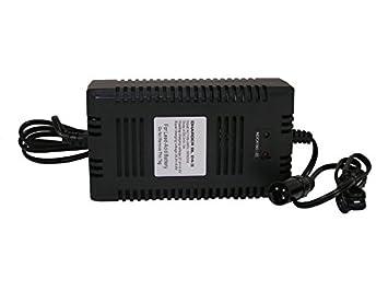 Cargador 24 V 3 A Compatible B60-FL XLR Conector AGM Plomo batería ...