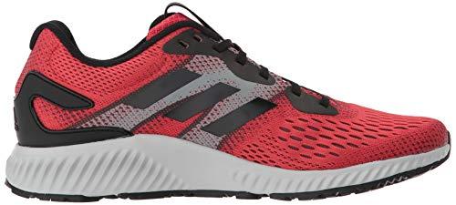 Medios Talla Hombres Zapatos Cordon black Aerobounce Para Correr gray amp; Adidas Bajos Red wZxzqISpp1