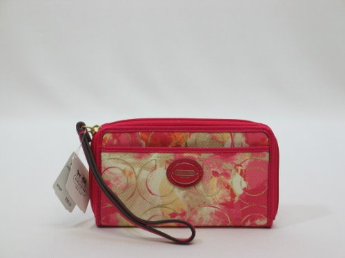 Coach Coral Multi Signature East West Universal Case, Bags Central