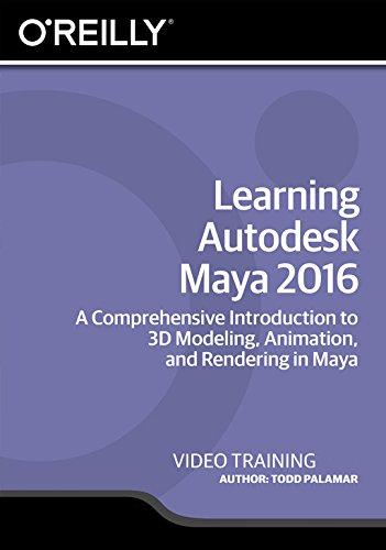 Learning Autodesk Maya 2016 [Online Code] by Infiniteskills