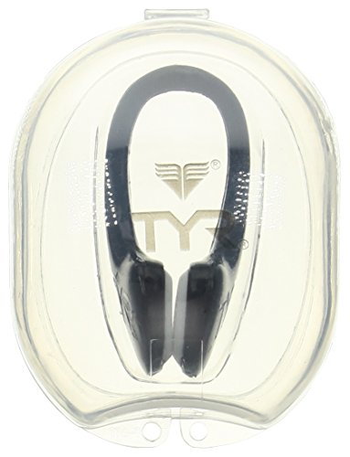 TYR Ergo Swimming Nose Clip, Black