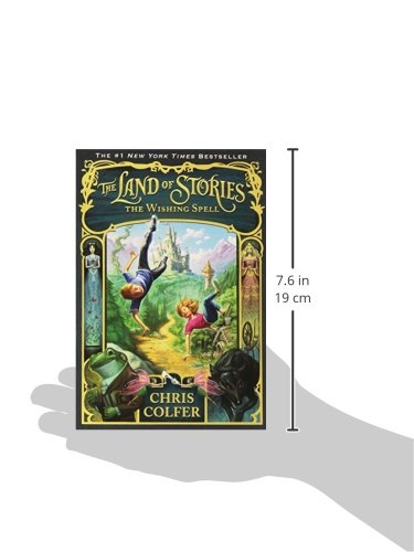 The Wishing Spell The Land Of Stories Chris Colfer Brandon