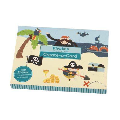 Mudpuppy Pirates Create A Card