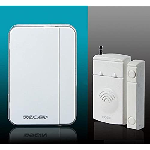 0630 Home Security Door/windows Magnetic Sensor Alarm Entry Alert Chime with Wireless Receiver White & Entry Alert Chime: Amazon.com