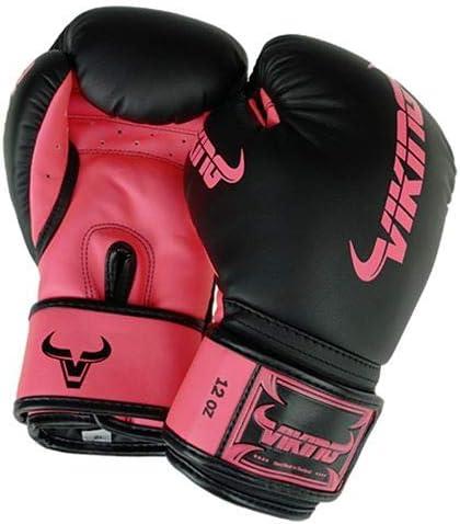 Black//Neo Orange Viking Chaos Boxing Gloves