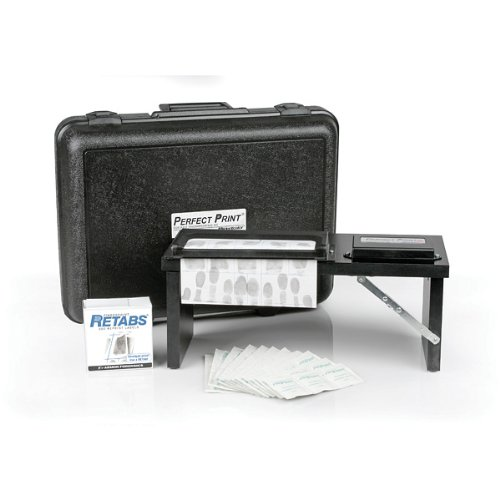 Identicator Portable Fingerprinting Station Kit