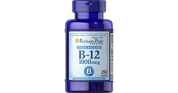 Amazon.com: Puritan s Pride Vitamina B-12 1000 mcg ...