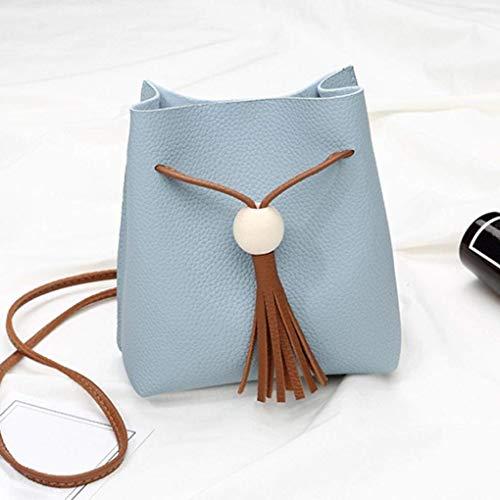 delle borsa tracolla ragazze del borsa blu donne borsa della moneta a della della signore delle della a tracolla Moontang modo di della delle delle Blu messaggero Borsa borsa donne borsa ZUw747