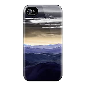 High Quality Destiny Mountains Case For Iphone 4/4s / Perfect Case
