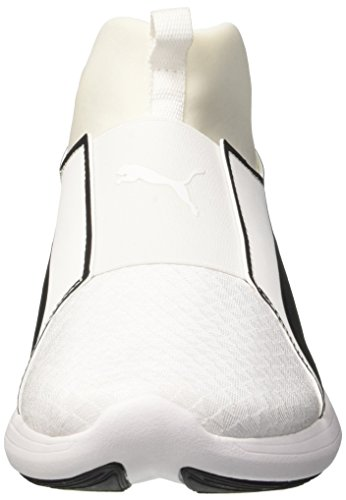 Puma Rebel Mid Wns Swan, Zapatillas para Mujer Blanco (Puma White-puma White 02)