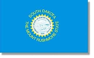 5x8' South Dakota 2ply Polyester State Flag