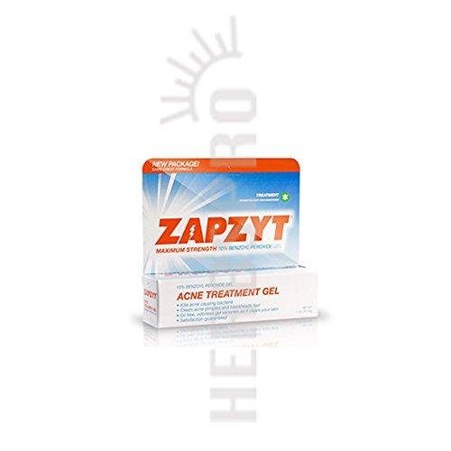 Waltman Pharmaceuticals Zapzyt Acne Treatment Gel 1 Oz 80 Off