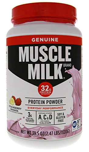 CytoSport Fruit Smoothie Muscle Milk Strawberry Banana 2.47lb