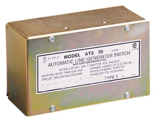 Parallax Power Supply (ATS301 30 Amp 120V Generator Switch by Parallax Power Supply