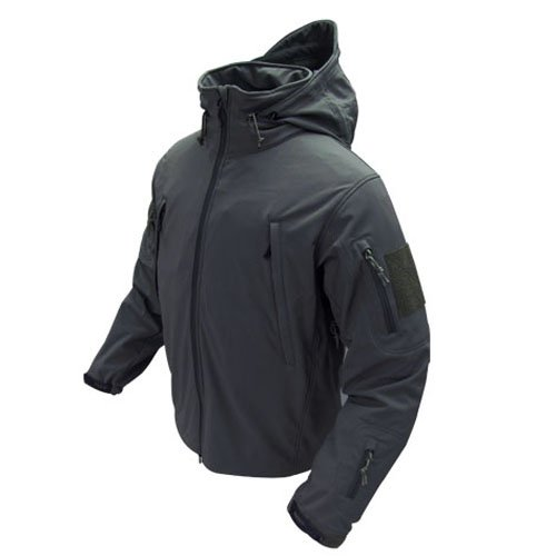 Condor Summit Soft Shell Tactical Jacket Color Black Size Large