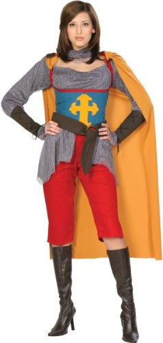 Fancy Of Joan Costume Arc Dress (Adult Joan of Arc Costume -)