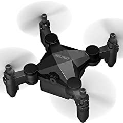 HELIWAY 901 Mini RC Helicopter Drone For Kids Or Beginner Quadcopter Features:Support gravity sensingIt helps increase kids' interest and happiness.Small size, foldable, easy to carry.One type design, the aircraft can be stored in the remote ...
