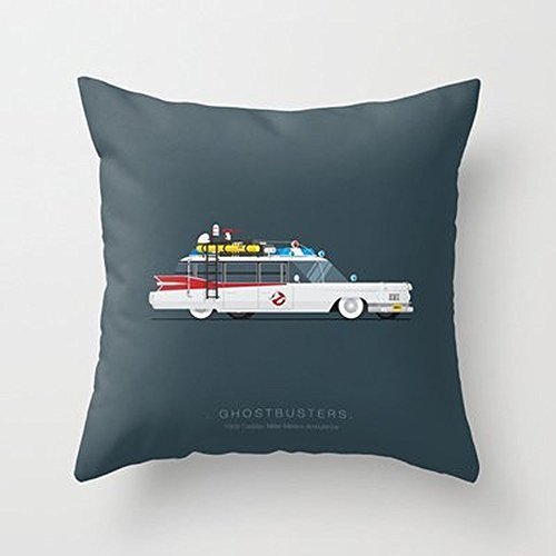 My Honey Pillow Ghostbusters | Famous Cars Throw Pillow By Fred Birchalfor Your Home (Ghosts Italian Style Dvd compare prices)